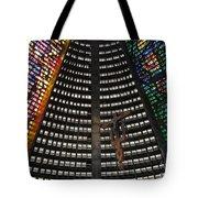 Catedral Metropolitana Do Rio De Janeiro Tote Bag by Barbie Corbett-Newmin