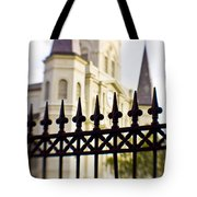 Cathedral Basilica Tote Bag by Scott Pellegrin