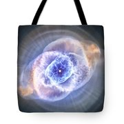Cat's Eye Nebula Tote Bag by Adam Romanowicz