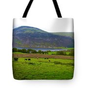 Cattle Grazing At Buttermere Tote Bag by Joan-Violet Stretch