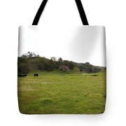 Cattles At Fernandez Ranch California - 5d21124 Tote Bag by Wingsdomain Art and Photography