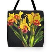 Cattleya Orchid Tote Bag by Richard Harpum