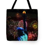 Celebrate America Tote Bag by Simon Wolter