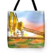 Cement Plant II Tote Bag by Kip DeVore