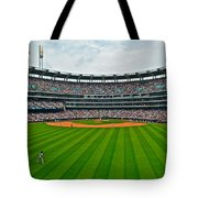 Center Field Tote Bag by Frozen in Time Fine Art Photography