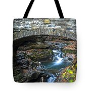 Central Cascade Tote Bag by Frozen in Time Fine Art Photography