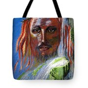 Chalice of Life Tote Bag by Jane Small