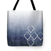 Chambray Ombre Tote Bag by Linda Woods