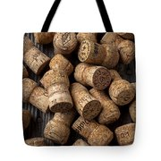 Champagne Corks Tote Bag by Garry Gay