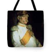 Chancellor Otto Von Bismarck Tote Bag by Franz Seraph von Lenbach