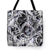 Chaotic Space Tote Bag by Anastasiya Malakhova