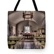 Chapel In Wales Tote Bag by Adrian Evans