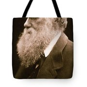 Charles Darwin Tote Bag by Julia Margaret Cameron