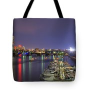 Charles River Country Club Tote Bag by Joann Vitali