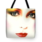 Charlie Girl Tote Bag by Andrew Farley