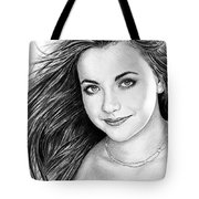 Charlotte Church Tote Bag by Andrew Read