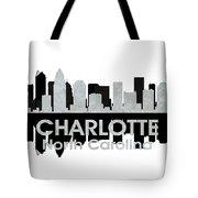 Charlotte Nc 4 Tote Bag by Angelina Vick