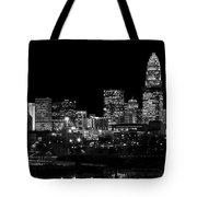 Charlotte Night V2 Tote Bag by Chris Austin