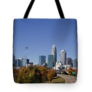Charlotte North Carolina Tote Bag by Jill Lang