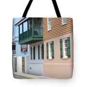 Charlotte Street Tote Bag by Kenneth Albin