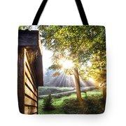 Charlotte's Web Tote Bag by Debra and Dave Vanderlaan