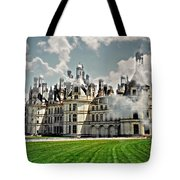 Chateau De Chenonceau Tote Bag by Diana Angstadt
