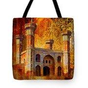 Chauburji Gate Tote Bag by Catf