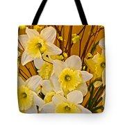 Cheerful Warmth Of Spring Tote Bag by Byron Varvarigos