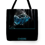 Cheers Tote Bag by Randi Grace Nilsberg