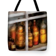 Chemist - Flavor Lab Tote Bag by Mike Savad