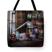 Chemist - My Retort Is Better Than Yours  Tote Bag by Mike Savad
