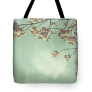 Cherry Blossom In Fulwood Park Tote Bag by Georgia Fowler