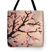Cherry Blossoms 2 Tote Bag by Barbara Griffin