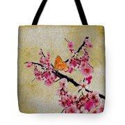 Cherry Blossoms Tote Bag by Cheryl Young