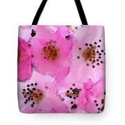 Cherry Blossoms - Flowers So Pink Tote Bag by Sharon Cummings