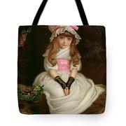 Cherry Ripe Tote Bag by Sir John Everett Millais