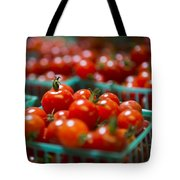 Cherry Tomatoes Tote Bag by Caitlyn  Grasso