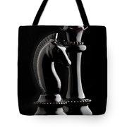 Chess III Tote Bag by Tom Mc Nemar