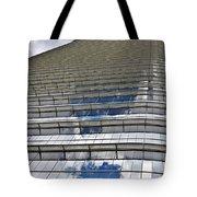 Chevron Corporation Houston Tx Tote Bag by Christine Till