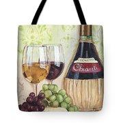 Chianti And Friends Tote Bag by Debbie DeWitt