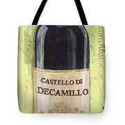 Chianti And Friends Panel 2 Tote Bag by Debbie DeWitt