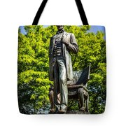 Chicago Abraham Lincoln The Man Standing Statue  Tote Bag by Paul Velgos