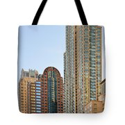 Chicago - Chi-town - Chitown - The City Beautiful Tote Bag by Christine Till