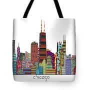Chicago City  Tote Bag by Bri B