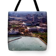 Chicago Museum Park Tote Bag by Thomas Woolworth