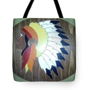Chief In Cherry Tote Bag by Michele Moore