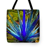 Chihuly Lily Pond Tote Bag by Diana Powell