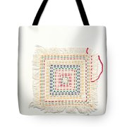 Child embroidery Tote Bag by Kerstin Ivarsson