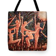 Children Of The Light Tote Bag by Anthony Falbo