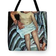 Child's Bath Tote Bag by Mary Cassatt